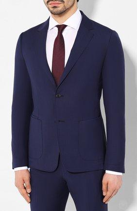Мужской шерстяной костюм Z ZEGNA синего цвета, арт. 724741/2XPYGX | Фото 2