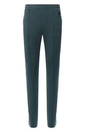 Мужские шерстяные брюки Z ZEGNA зеленого цвета, арт. VU475/ZZTP66 | Фото 1