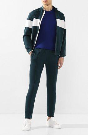 Мужские шерстяные брюки Z ZEGNA зеленого цвета, арт. VU475/ZZTP66 | Фото 2