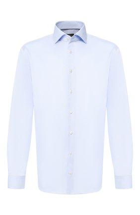 Мужская хлопковая сорочка VAN LAACK голубого цвета, арт. TIVARA2-PTF/160872 | Фото 1