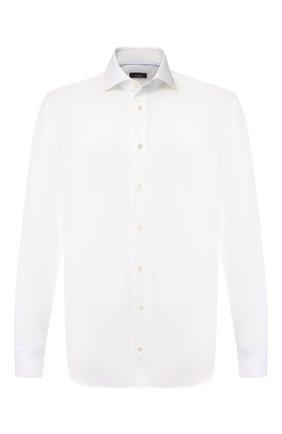 Мужская хлопковая сорочка VAN LAACK белого цвета, арт. TIVARA2-PTF/160872 | Фото 1