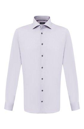 Мужская хлопковая сорочка VAN LAACK серого цвета, арт. TIVARA2-PSF/160935 | Фото 1