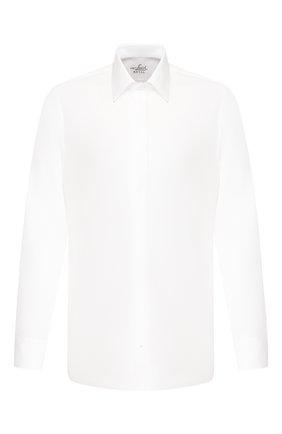 Мужская хлопковая сорочка VAN LAACK белого цвета, арт. SCAL0-DSF/130648 | Фото 1