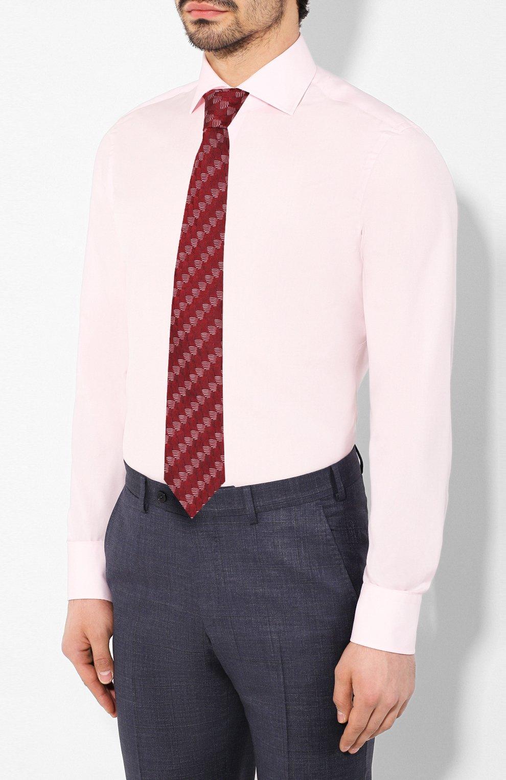 Мужская хлопковая сорочка VAN LAACK розового цвета, арт. RIVARA-SFN/150190 | Фото 4