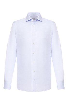 Мужская хлопковая сорочка VAN LAACK голубого цвета, арт. RIVARA-SF/150067 | Фото 1