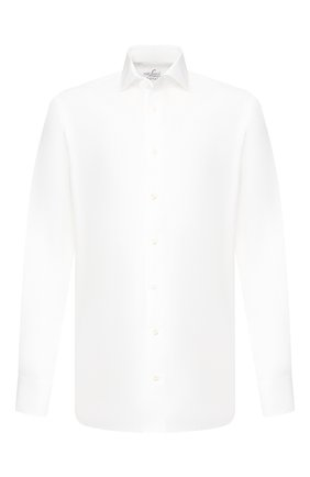 Мужская хлопковая сорочка VAN LAACK белого цвета, арт. RIVARA-SF/150067 | Фото 1