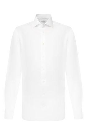 Мужская хлопковая сорочка VAN LAACK белого цвета, арт. RIVARA-LSFN/132241 | Фото 1