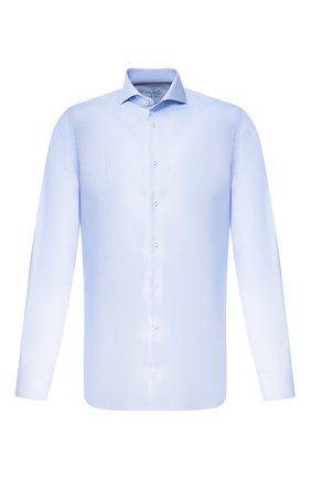 Мужская хлопковая сорочка VAN LAACK голубого цвета, арт. RES0-PSFN/150142 | Фото 1