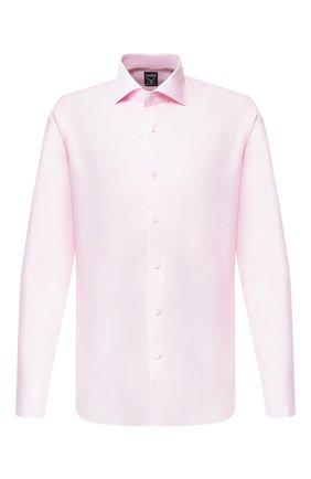Мужская сорочка из смеси хлопка и льна VAN LAACK розового цвета, арт. MIVARA-DTF/150054 | Фото 1