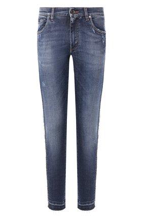 Мужские джинсы DOLCE & GABBANA синего цвета, арт. GW96LD/G8CC7   Фото 1