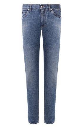 Мужские джинсы DOLCE & GABBANA синего цвета, арт. GYJCCD/G8CB3 | Фото 1