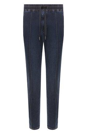 Мужские джинсы DOLCE & GABBANA темно-синего цвета, арт. GYACED/G8CB9 | Фото 1