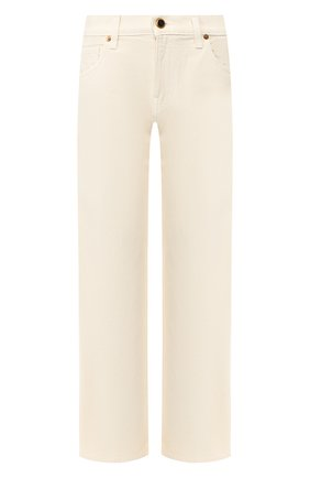 Женские джинсы KHAITE кремвого цвета, арт. 1047-051/KERRIE | Фото 1