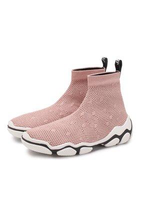 Текстильные кроссовки Glam Run | Фото №1
