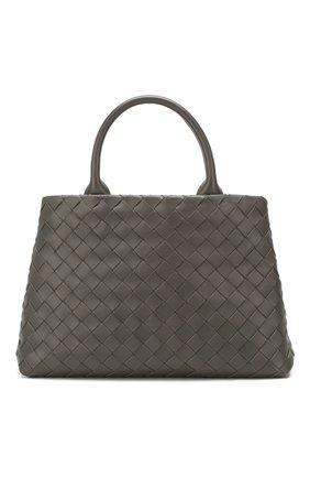 Женская сумка-тоут BOTTEGA VENETA темно-серого цвета, арт. 607327/VCPP1 | Фото 1