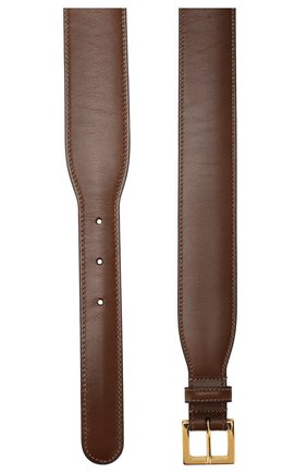 Женский кожаный ремень GUCCI коричневого цвета, арт. 600636/1NS0G | Фото 2