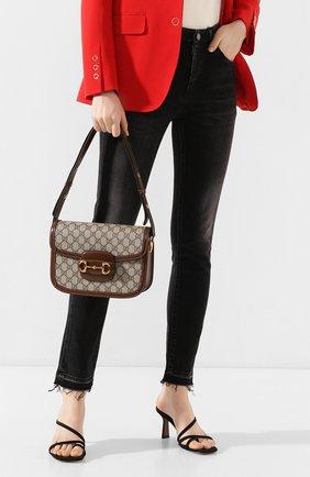 Женская сумка 1955 horsebit GUCCI коричневого цвета, арт. 602204/92TCG | Фото 2