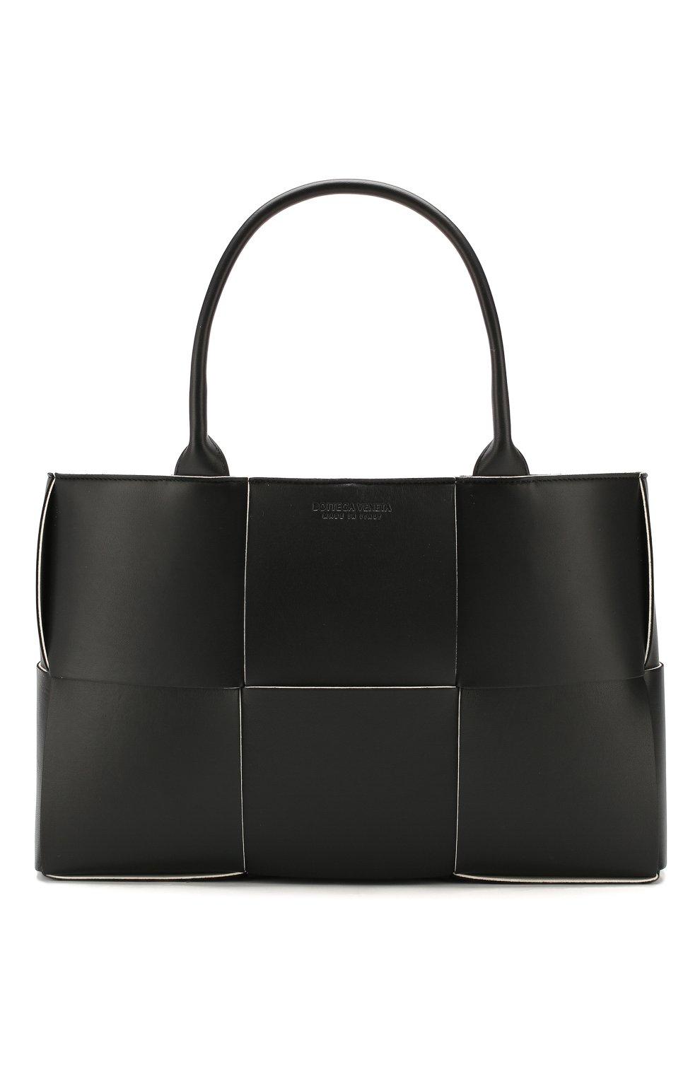 Женский сумка arco tote BOTTEGA VENETA черного цвета, арт. 609175/VMAY3 | Фото 1