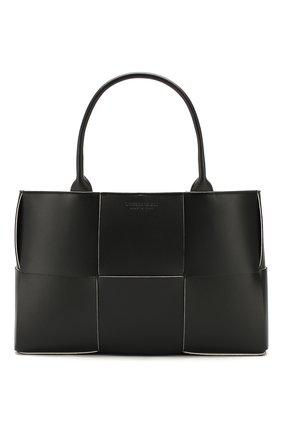 Женская сумка-тоут arco BOTTEGA VENETA черного цвета, арт. 609175/VMAY3 | Фото 1