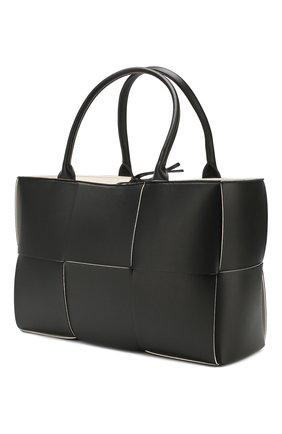 Женский сумка arco tote BOTTEGA VENETA черного цвета, арт. 609175/VMAY3 | Фото 3
