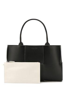 Женский сумка arco tote BOTTEGA VENETA черного цвета, арт. 609175/VMAY3 | Фото 5