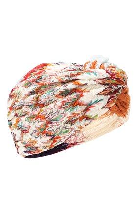 Женская повязка на голову MISSONI разноцветного цвета, арт. MDS00226/BR007T | Фото 1