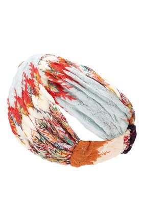 Женская повязка на голову MISSONI разноцветного цвета, арт. MDS00226/BR007T | Фото 2