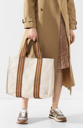 Сумка Suitcase Stripe | Фото №2