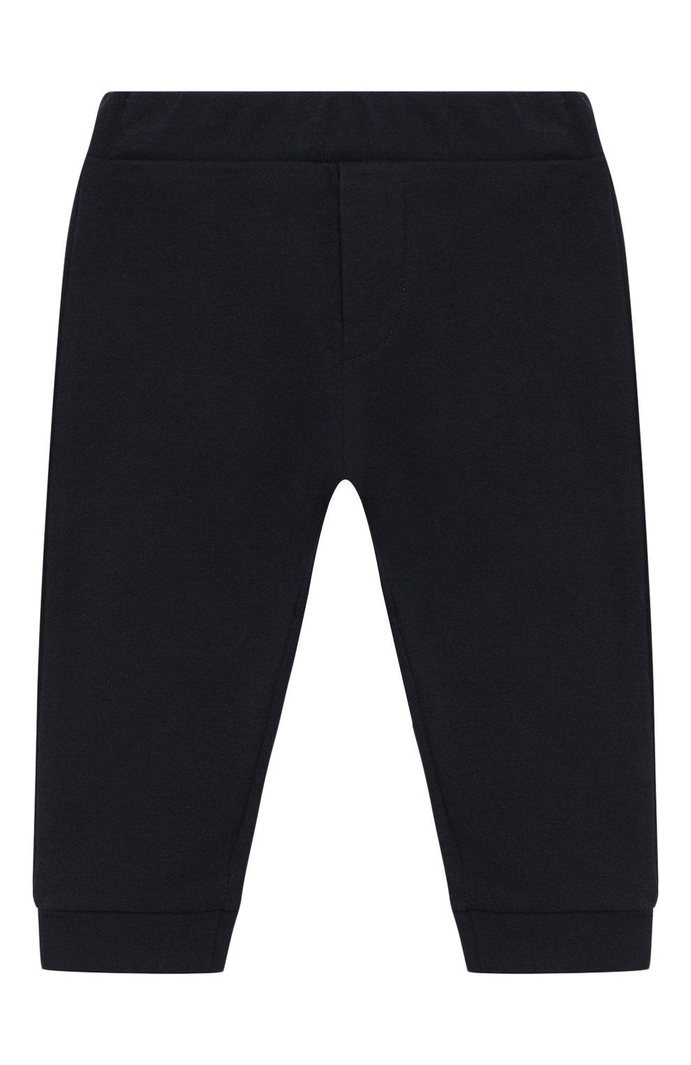 Детский комплект из толстовки и брюк EMPORIO ARMANI бирюзового цвета, арт. 3HHV04/4J23Z | Фото 5