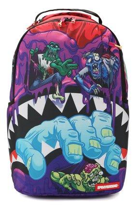 Детская рюкзак SPRAYGROUND фиолетового цвета, арт. 910B2851NSZ | Фото 1