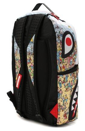 Детская рюкзак SPRAYGROUND разноцветного цвета, арт. 910B2860NSZ | Фото 2