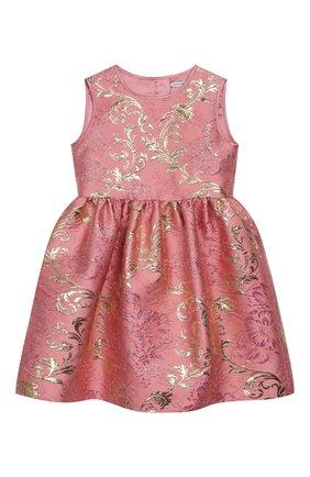 Детское платье DOLCE & GABBANA светло-розового цвета, арт. L52DB7/HJMJN/2-6 | Фото 1