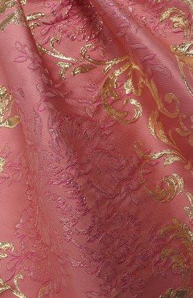 Детское платье DOLCE & GABBANA светло-розового цвета, арт. L52DB7/HJMJN/2-6 | Фото 3