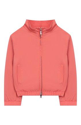 Детского куртка LORO PIANA кораллового цвета, арт. FAI0843 | Фото 1
