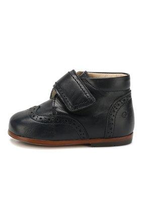 Кожаные ботинки с брогированием | Фото №2