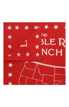 Мужской хлопковый платок RRL красного цвета, арт. 417754954 | Фото 1