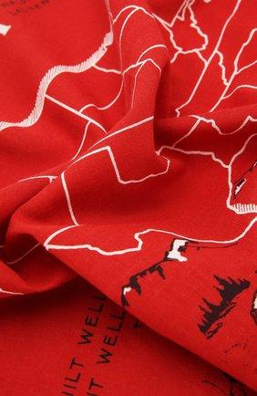 Мужской хлопковый платок RRL красного цвета, арт. 417754954 | Фото 2