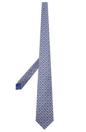 Мужской шелковый галстук ZILLI голубого цвета, арт. 50212/TIES | Фото 2