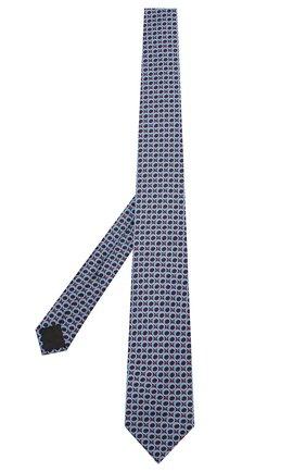 Мужской шелковый галстук ZILLI голубого цвета, арт. 50233/TIES | Фото 2