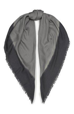 Мужской шарф из смеси шерсти и шелка ERMENEGILDO ZEGNA серого цвета, арт. Z7L51/2D8 | Фото 1