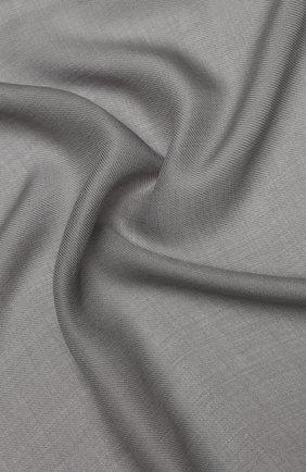 Мужской шарф из смеси шерсти и шелка ERMENEGILDO ZEGNA серого цвета, арт. Z7L51/2D8 | Фото 2