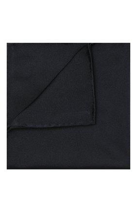Мужской шелковый платок BRIONI темно-синего цвета, арт. 071000/PZ418 | Фото 1