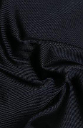Мужской шелковый платок BRIONI темно-синего цвета, арт. 071000/PZ418 | Фото 2