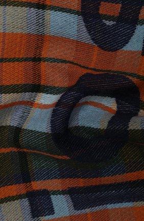Мужской шерстяной шарф ACNE STUDIOS оранжевого цвета, арт. CA0022/M | Фото 2