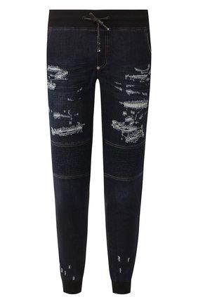 Мужские джинсы PHILIPP PLEIN темно-синего цвета, арт. S20C MDT2033 PDE004N | Фото 1