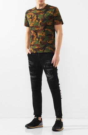 Мужские джинсы PHILIPP PLEIN черного цвета, арт. S20C MDT2033 PDE004N | Фото 2