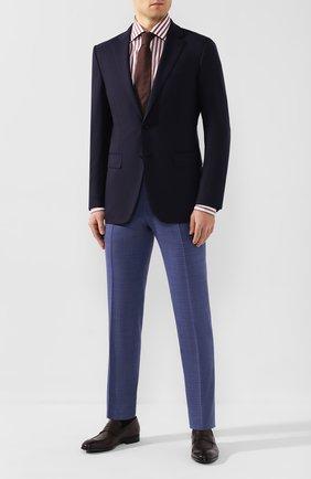 Мужская хлопковая сорочка LUIGI BORRELLI бордового цвета, арт. EV08/LUCIAN0/TS9395 | Фото 2