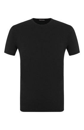 Мужская футболка TOM FORD черного цвета, арт. BU229/TFJ950 | Фото 1