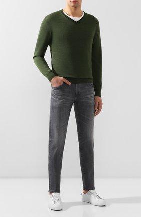 Мужские джинсы AG серого цвета, арт. 1783AHD/08YNC0 | Фото 2