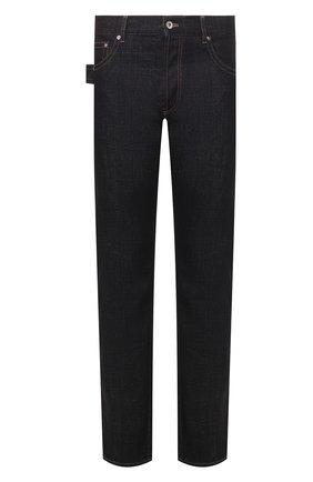 Мужские джинсы BOTTEGA VENETA темно-синего цвета, арт. 601063/VKLK0 | Фото 1
